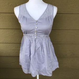 Asos Petite Baby Doll Top Size 1